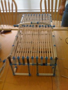 Loom built of Construx
